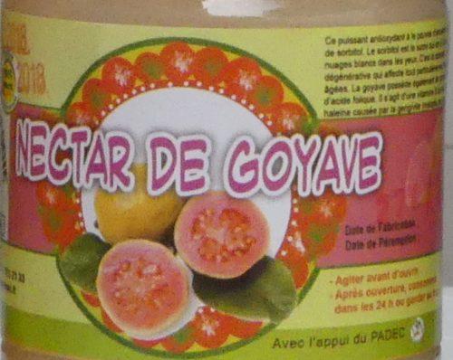 Nectar de goyave blanche